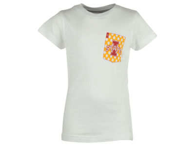 Iowa State Cyclones Pressbox NCAA Youth Girls Speckled T-Shirt