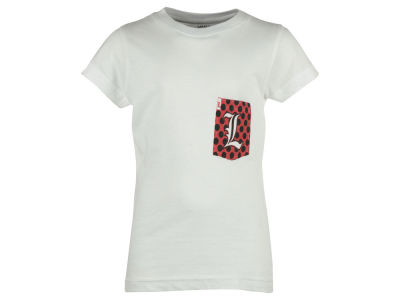Louisville Cardinals Pressbox NCAA Youth Girl Speckled T-Shirt
