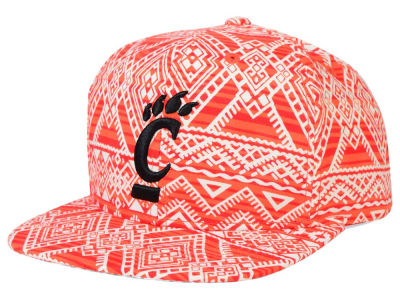 Cincinnati Bearcats Top of the World NCAA Montezuma Snapback Cap