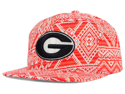 Georgia Bulldogs Top of the World NCAA Montezuma Snapback Cap