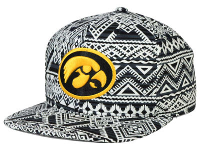 Iowa Hawkeyes Top of the World NCAA Montezuma Snapback Cap