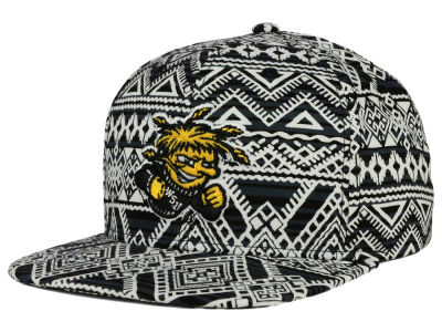 Wichita State Shockers Top of the World NCAA Montezuma Snapback Cap
