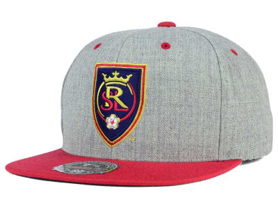 Real Salt Lake Mitchell and Ness MLS Heather Fitted Cap