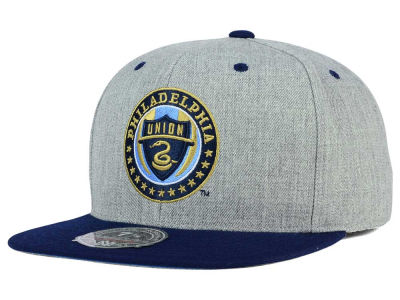 Philadelphia Union Mitchell and Ness MLS Heather Fitted Cap
