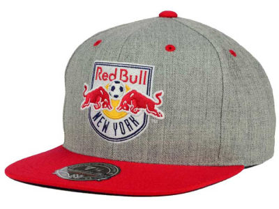 New York Red Bulls Mitchell and Ness MLS Heather Fitted Cap