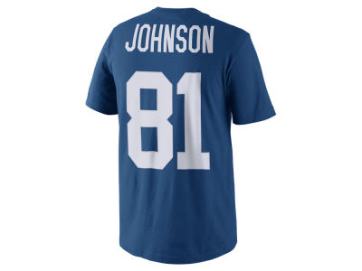 Indianapolis Colts Andre Johnson Nike NFL Men's Pride Name and Number T-Shirt