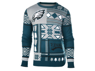 Philadelphia Eagles La Tilda NFL Men's Patches Ugly Sweater