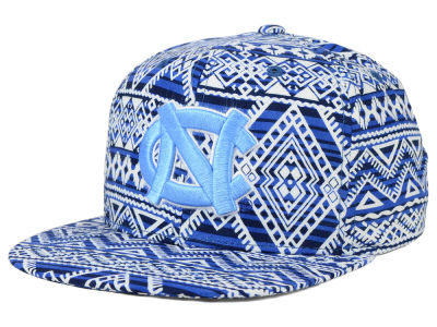 North Carolina Tar Heels Top of the World NCAA Montezuma Snapback Cap