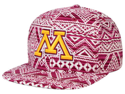 Minnesota Golden Gophers Top of the World NCAA Montezuma Snapback Cap