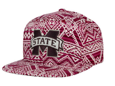 Mississippi State Bulldogs Top of the World NCAA Montezuma Snapback Cap