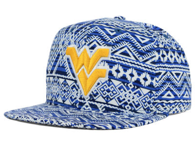 West Virginia Mountaineers Top of the World NCAA Montezuma Snapback Cap