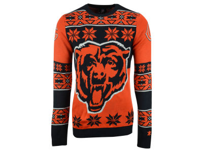 Chicago Bears La Tilda NFL Men's Big Logo Ugly Sweater