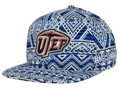 UTEP Miners Top of the World NCAA Montezuma Snapback Cap