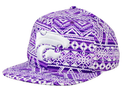 Kansas State Wildcats Top of the World NCAA Montezuma Snapback Cap