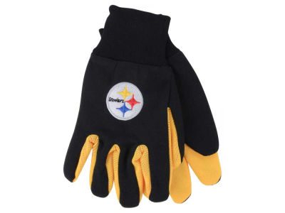 Pittsburgh Steelers Team Color Palm Gloves