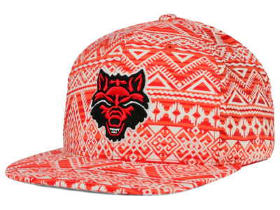 Arkansas State Red Wolves Top of the World NCAA Montezuma Snapback Cap