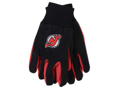 New Jersey Devils Team Color Palm Gloves