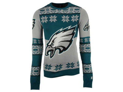 Philadelphia Eagles La Tilda NFL Men's Big Logo Ugly Sweater