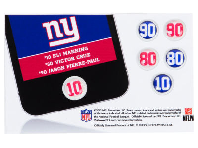 New York Giants Fat Dots 6pk