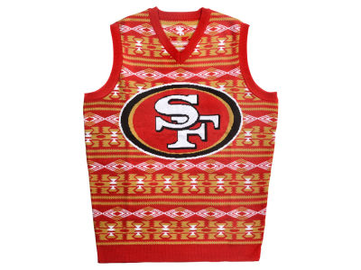 San Francisco 49ers La Tilda NFL Men's Wordmark Ugly Vest