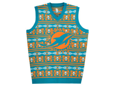 Miami Dolphins La Tilda NFL Men's Wordmark Ugly Vest