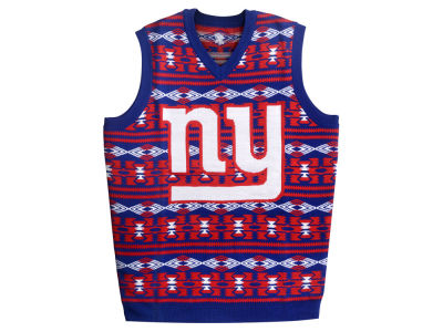 New York Giants La Tilda NFL Men's Wordmark Ugly Vest