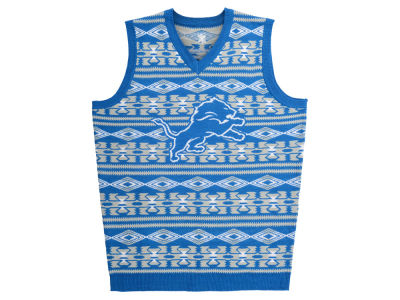 Detroit Lions La Tilda NFL Men's Wordmark Ugly Vest