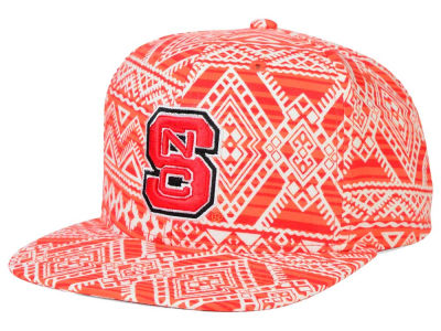 North Carolina State Wolfpack Top of the World NCAA Montezuma Snapback Cap