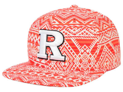 Rutgers Scarlet Knights Top of the World NCAA Montezuma Snapback Cap