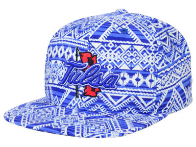 Tulsa Golden Hurricane Top of the World NCAA Montezuma Snapback Cap