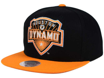 Houston Dynamo Mitchell and Ness MLS 2 Tone XL Snapback Cap