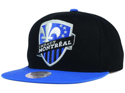 Montreal Impact Mitchell and Ness MLS 2 Tone XL Snapback Cap