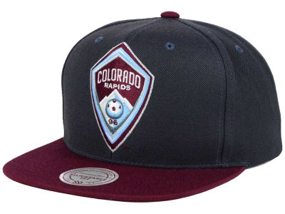 Colorado Rapids Mitchell and Ness MLS 2 Tone XL Snapback Cap