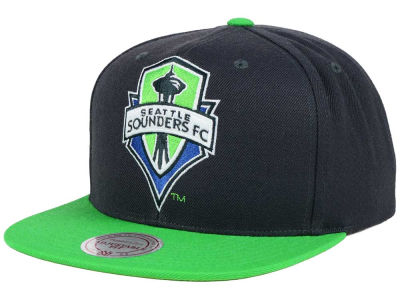 Seattle Sounders FC Mitchell and Ness MLS 2 Tone XL Snapback Cap