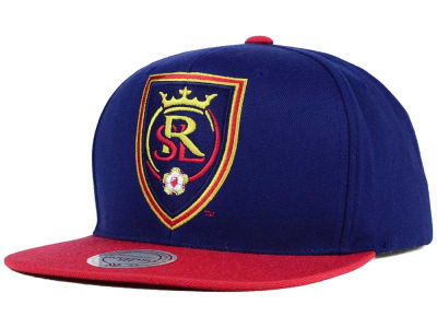 Real Salt Lake Mitchell and Ness MLS 2 Tone XL Snapback Cap