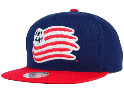 New England Revolution Mitchell and Ness MLS 2 Tone XL Snapback Cap