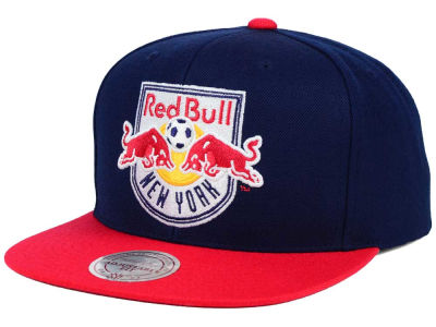 New York Red Bulls Mitchell and Ness MLS 2 Tone XL Snapback Cap