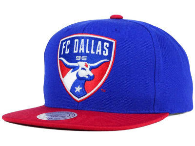 FC Dallas Mitchell and Ness MLS 2 Tone XL Snapback Cap