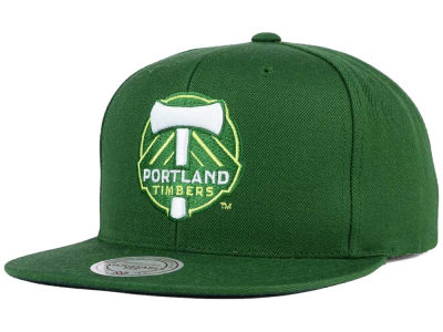 Portland Timbers Mitchell and Ness MLS Basic Snapback Cap