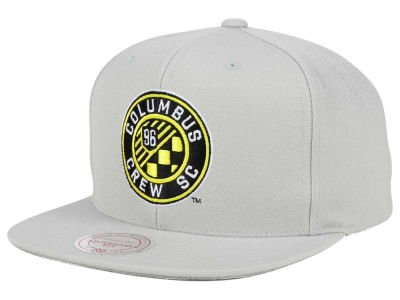Columbus Crew SC Mitchell and Ness MLS Basic Snapback Cap