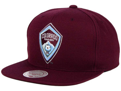 Colorado Rapids Mitchell and Ness MLS Basic Snapback Cap