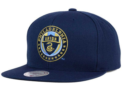 Philadelphia Union Mitchell and Ness MLS Basic Snapback Cap