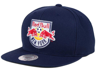 New York Red Bulls Mitchell and Ness MLS Basic Snapback Cap