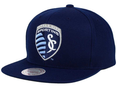 Sporting Kansas City Mitchell and Ness MLS Basic Snapback Cap