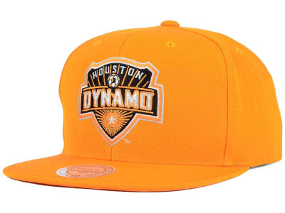Houston Dynamo Mitchell and Ness MLS Basic Snapback Cap