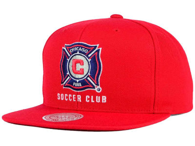 Chicago Fire Mitchell and Ness MLS Basic Snapback Cap