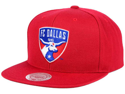 FC Dallas Mitchell and Ness MLS Basic Snapback Cap