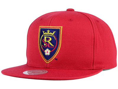 Real Salt Lake Mitchell and Ness MLS Basic Snapback Cap