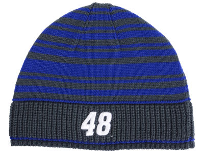 Jimmie Johnson NASCAR Draft Stripe Beanie Knit