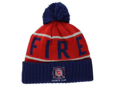 Chicago Fire Mitchell & Ness MLS Pom Knit